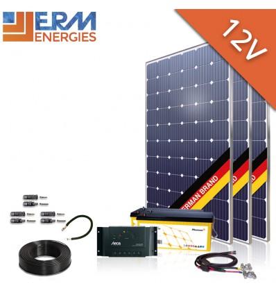 Kit site isole photovoltaïque 12V SK17