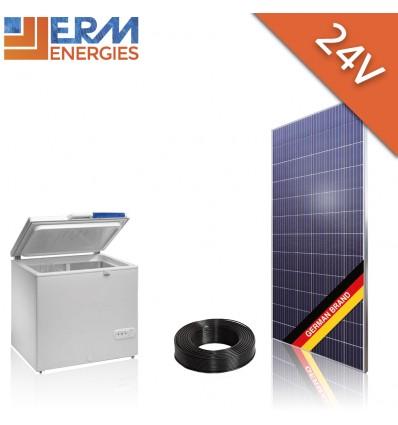 Kit site isole photovoltaïque 24V KA01