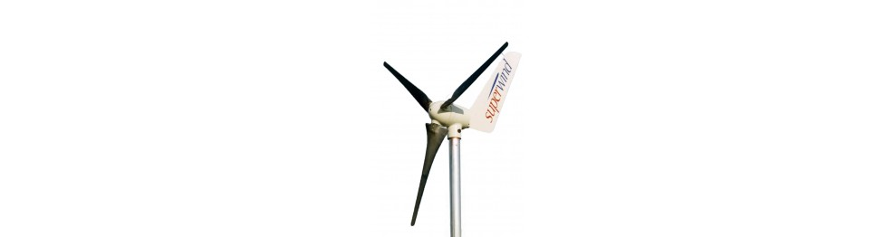 Éoliennes (Site isolé, Connecté réseau)