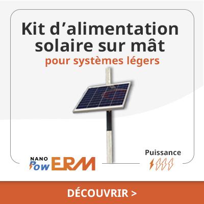 Alimentation solaire NanoPowERM Carpentras